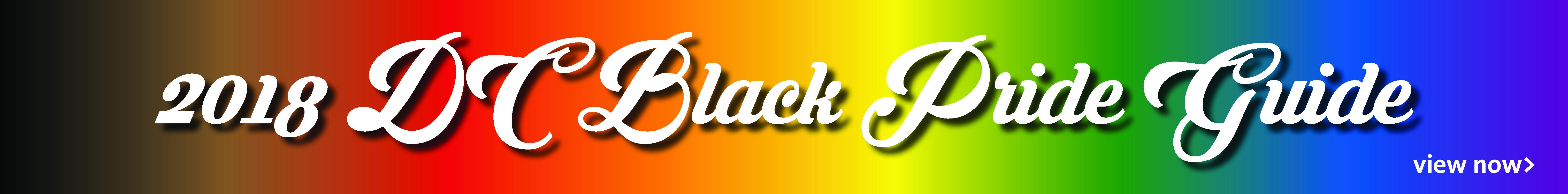 DC Black Pride Guide 2018