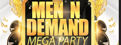 The Men N Demand Pride Mega Party