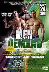 Men N Demand Mega Party