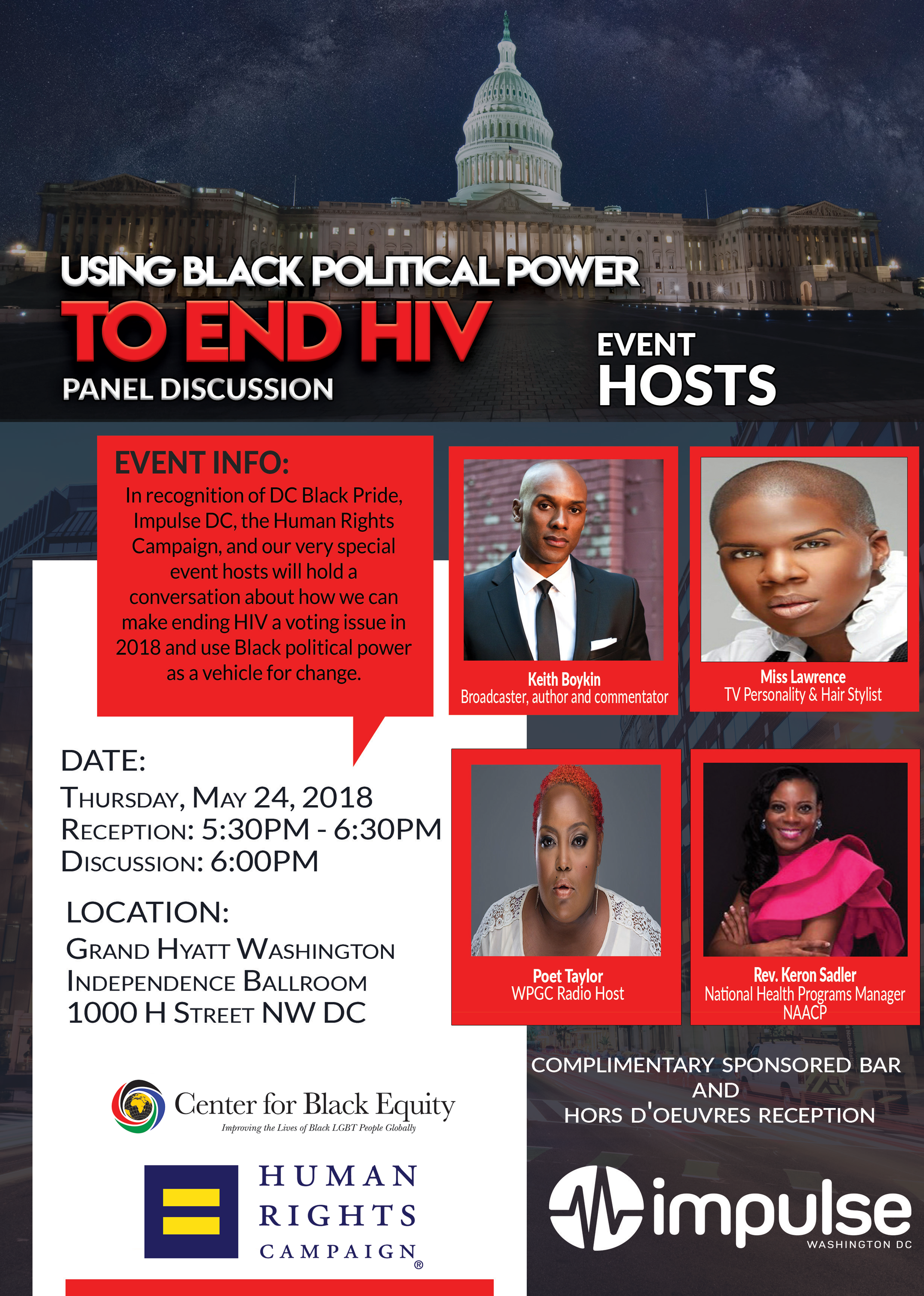 Using Black Political Power to End HIV Panel Discussion