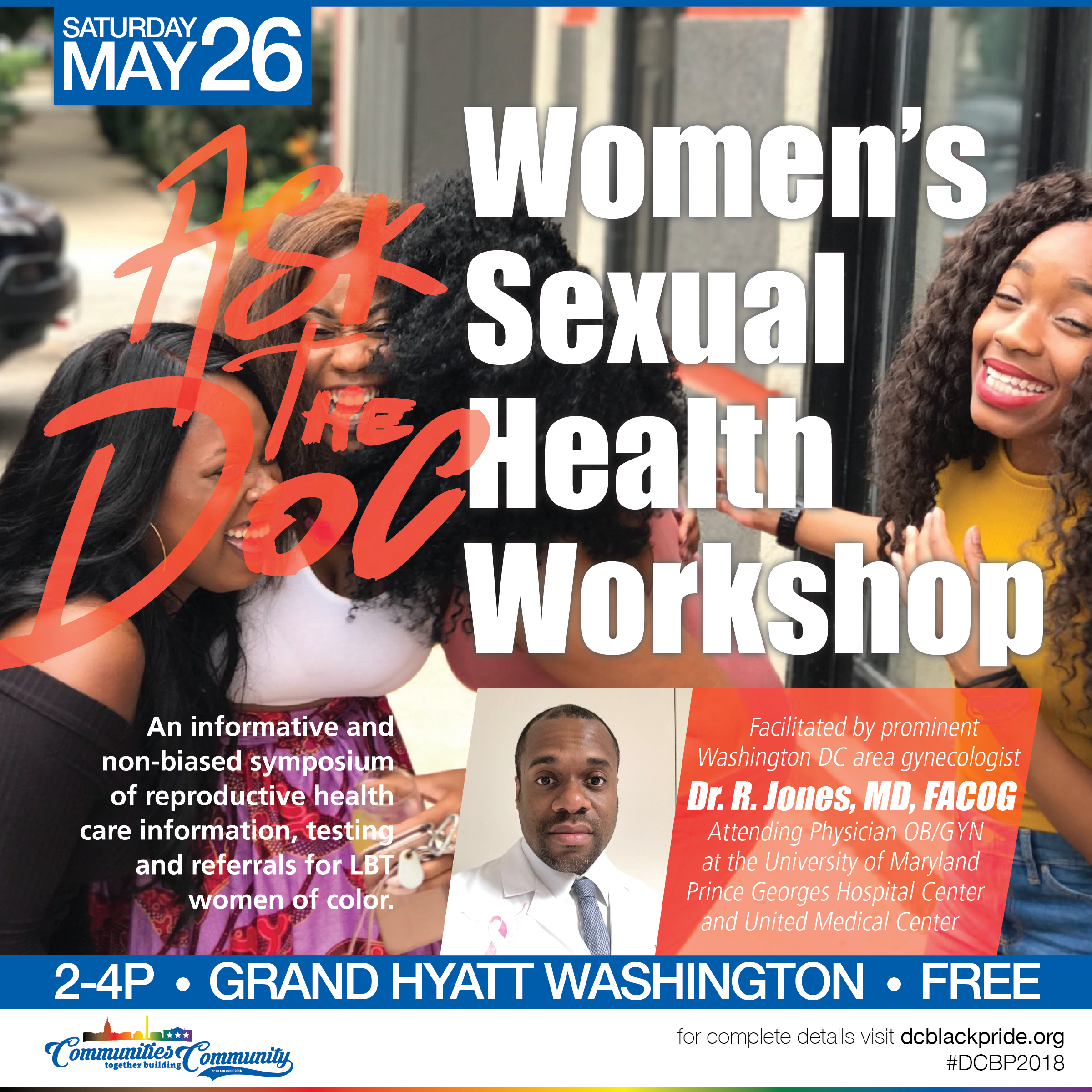 """Ask the Doc"" Women's Sexual Health Workshop"