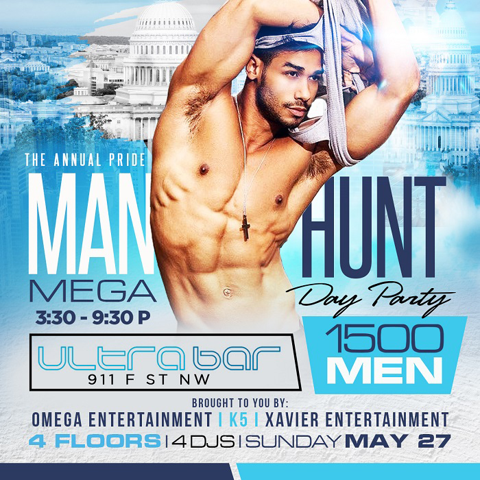 The Annual Manhunt Day Party